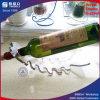 Singolo supporto di bottiglia acrilico degli accessori del vino