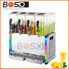 4*10L Juice Beverage met LED Light (bos-J40L)