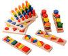 Brinquedos de madeira de Montessori da venda quente para a escola