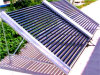 Calefator de água solar do tubo de vácuo para o projeto grande
