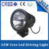 65W viga Delantero-Posicional campo a través de la luz de conducción del CREE LED sola
