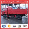 Sitom 4X2 115HP carro de descarga de 5 toneladas