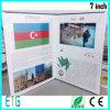 Обеспеченная образцом брошюра брошюры LCD высокого качества электронная видео-
