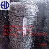 電流を通された鋼鉄コイル状の有刺鉄線