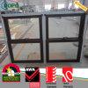 Vidro de deslizamento de madeira Windows da placa do dobro da cor