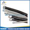 Conduit électrique flexible de Flatted en métal enduit étanche de PVC