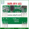 433MHz módulos de receptor Wr-Ry-03 do RF do receptor pedem/Fsk Superhet