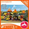 Material plástico do campo de jogos e campo de jogos ao ar livre das crianças