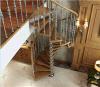 鋼鉄木製の螺線形階段(YUDI YD-GMX01)