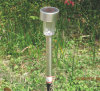 Lámpara solar ligera solar inoxidable del jardín del LED
