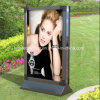 Double ao ar livre Sided Scrolling Light Box com loja Front Light Box Signs