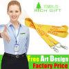Compatitive Preis Mutil-Farbe kundenspezifische Keychain Halsketten-Farbband-Brücke