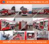 Sinotruk HOWO 6X4 물 콘테이너 화재 싸움 트럭