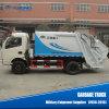 Camion di immondizia di compressione del volume della pattumiera