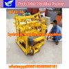 Petite machine automatique de bloc de ponte d'oeufs, bloc mobile faisant la machine