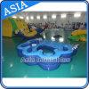 Giochi di galleggiamento gonfiabili dell'isola di uso della piscina