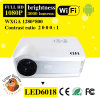 LCD TFT van 5.8 Duim Vertoning		 LED6018 androïde Draagbare Projector WiFi