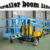 Het mobiele Hydraulische Platform van de Lift van de Boom van de Aanhangwagen Towable
