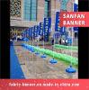 Kundenspezifische Straßen-Einspritzung-Wasser-Einspritzung-Markierungsfahne