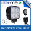 Luz 12V del trabajo de la agricultura LED de la lámpara del trabajo del cubo LED