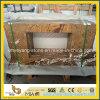 열대 다우림 브라운 Marble Bathroom Countertop 또는 Vanitytop