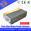 Las ventas calientes 3000W puro Sinve inversor de la onda de corriente con cargador incorporado Manufactory de China
