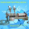 Máquina de rellenar líquida neumática horizontal principal doble, llenador líquido de dos inyectores (G1WY-2Y-500)