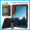 La caisse sans danger pour les enfants antichoc d'armure avec tournent le support pour l'iPad Air2