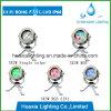 IP68 indicatore luminoso subacqueo luminoso del raggruppamento di nuoto LED del punto di colore LED