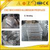 Frame de alumínio feito à máquina CNC com dobra