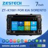 Радиоий автомобиля DVD GPS фабрики сразу для KIA Sorento (ZT-K7081)