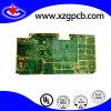 PWB da placa de circuito do ouro de uma imersão de 3 micropolegadas para o controle industrial
