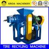 Planta CQJ goma del neumático de la viruta amoladora de la trituradora de neumáticos automática de reciclaje