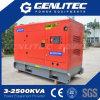 Звукоизоляционное 75kw 94kVA портативное тепловозное Genset приведенное в действие Cummins 6bt5.9-G1