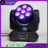 7X10W LED Stage Disco Estágio Equipamento Moving Head Light