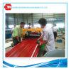 Tôle peinte galvanisée galvanisée couvrant la machine