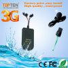 GPS van de motorfiets/van de Auto 3G Drijver met 8MB het Off-line Registreerapparaat van Gegevens gt08-Ez