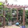 Incêndio do projeto moderno - Pergola personalizado resistente do jardim WPC