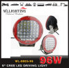 Indicatore luminoso di azionamento Low-Profile di 9inch 96W 4X4 LED