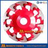 Колесо чашки диаманта меля/меля диск