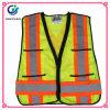 Het standaard Vest van de Veiligheid van de Kleding van de Polyester van 100% Weerspiegelende