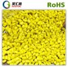 Color amarillo Masterbatch de PE/PP/ABS usado para el plástico