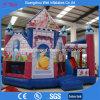 子供の誕生会のためのスライドを持つInflatable Bouncer Jumping Castle王女