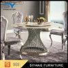 Mobiliário de jantar Mesa de jantar redonda de ouro Paiting