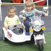 Sitzfahrt neue des Art-Kind-elektrische Motorrad-zwei auf Auto