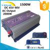 1500WLCD 110V/230V 45V-90Vの風力の太陽格子タイインバーターYs 1500g W DLCD