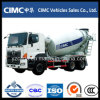 Carro 6X4 del mezclador concreto de Hino