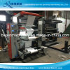2つのカラーFlexoの印刷機械装置のNonwoven PPによって編まれるペーパーフィルム