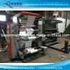 2 Farben Flexo Druckmaschinen-nichtgewebter pp. gesponnener Papierfilm