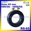 Huidige Transformator rs-65 Huidige Transformator 65mm van de bescherming van het Instrument de BinnenFabriek van Cts van het Gat
